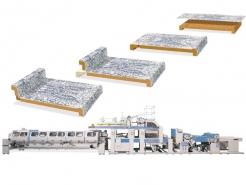 окутывающий и постформирующий станок для пленки и ламината HPL Fast-Press Barberan