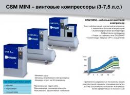 GSM MINI- винтовые компрессоры Cecatto