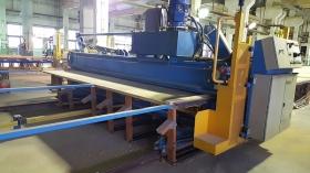 Пресс гидравлический для производства деревянных кровельных ферм Mark YI Майтек