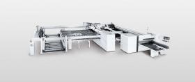 Станок для раскроя плит SAWTEQ B-600 как угловой раскроечный центр