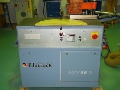 Односторонний кромкооблицовочный станок  AKV 88D Hebrock (Германия)
