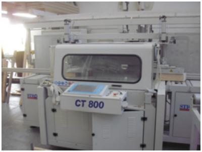 Раскроечный станок для балок STROMAB CT800