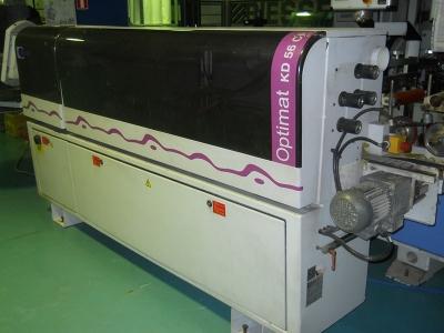 Односторонний кромкооблицовочный станок KD 56 СF Optimat Brandt (Германия)