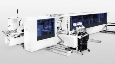 Проходная обработка криволинейных деталей EDGETEQ S-810/CF
