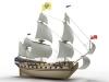 """54-пушечный линейный корабль 4 ранга """"Полтава"""" спущен на воду!"""